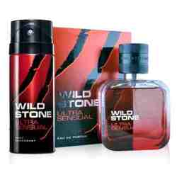 Wild Stone Ultra Sensual Perfume And Deodorant Combo